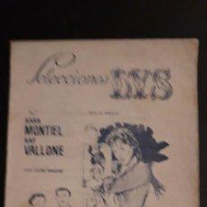 Cinéma: FOLLETO DE ** SELECCIONES LYS. CARTELERA. VALENCIA ** AÑO 1958 MAYO LA VIOLETERA .. Lote 267882764