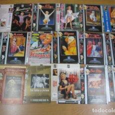 Cine: LOTE 30 CARATULAS PORTADAS ORIGINALES VIDEO VHS - ACTRIZ MARILYN MONROE PELICULAS Y DOCUMENTALES. Lote 268417924