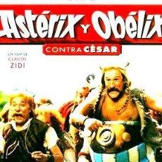 Cine: ASTERIX Y OBELIX CONTRA CESAR ROBERTO BENIGNI DVD. Lote 268528564