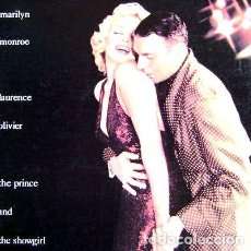 Cine: PRINCE AND THE SHOWGIRL LASERDISC LASER DISC MARILYN MONROE. Lote 268536719
