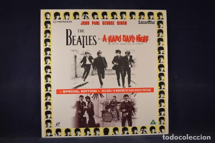 THE BEATLES - A HARD DAY'S NIGHT & THE MAKING OF - LASER DISC (Cine - Varios)