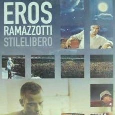 Cine: EROS RAMAZZOTTI STILELIBERO DVD ARGENTINO. Lote 270456783