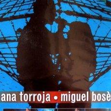 Cine: DVD ANA TORROJA MIGUEL BOSE GIRADOS CONCIERTO BOOKLET. Lote 270462243