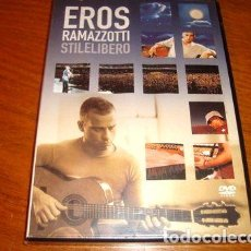 Cine: EROS RAMAZZOTTI STILELIBERO DVD. Lote 270463543