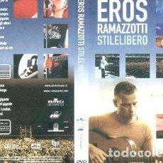 Cine: RAMAZZOTTI EROS STILE LIBERO DVD S. Lote 270480453