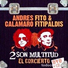 Cine: CALAMARO ANDRES FITO FITIPALDIS 2 SON MULTITUD DVDCD W. Lote 273781288