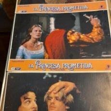 Cine: LOTE 7 CARTELES DE CINE : LA PRINCESA PROMETIDA ( ROBIN WRIGHT ). Lote 274023583