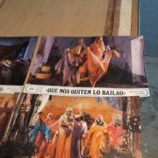 Cine: LOTE 6 CARTELES DE CINE : QUE NOS QUITEN LO BAILAO ( CARLES MIRA ). Lote 274023868