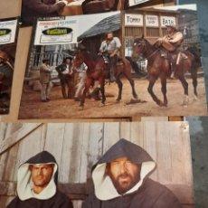 Cine: LOTE 11 CARTELES DE CINE : LE SEGUIAN LLAMANDO TRINIDAD ( BUD SPENCER, TERENCE HILL). Lote 274023958