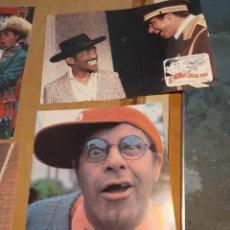 Cine: LOTE 4 CARTELES DE CINE : EL MUNDO LOCO DE JERRY ( JERRY LEWIS ). Lote 274024098