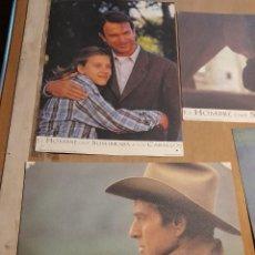 Cine: LOTE 4 CARTELES DE CINE : EL HOMBRE QUE SUSURRABA A LOS CABALLOS ( ROBERT REDFORD, ). Lote 274024298