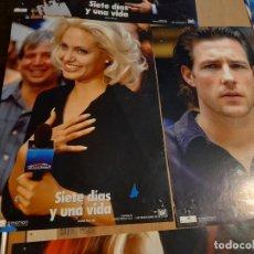 Cine: LOTE 10 CARTELES DE CINE : SIETE DIAS Y UNA VIDA ( ANGELINE JOLIE ). Lote 274024418