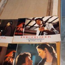 Cine: LOTE 6 CARTELES DE CINE : IDOLO DE ROCK ( RICK SPRINGFIELD ). Lote 274024488