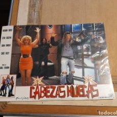 Cine: LOTE 12 CARTELES DE CINE : CABEZAS HUECAS ( BRENDAN FRASER ). Lote 274024638