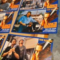 Cine: LOTE 12 CARTELES DE CINE : BLANCO HUMANO ( VAN DAMME ). Lote 274025008