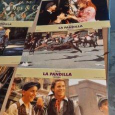 Cine: LOTE 10 CARTELES DE CINE : LA PANDILLA ( CHRISTIAN BALE ). Lote 274025068