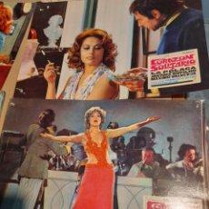 Cine: LOTE 8 CARTELES DE CINE : CORAZON SOLITARIO ( LA POLACA ). Lote 274025383