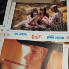 Cine: LOTE 4 CARTELES DE CINE : BOLERO ( BO DEREK , ANA GARCIA OBREGON ). Lote 274026668