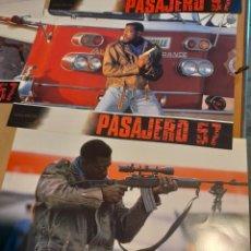 Cine: LOTE 12 CARTELES DE CINE : PASAJERO 57 ( WESLEY SNIPES ). Lote 274026768