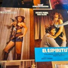 Cine: LOTE 12 CARTELES DE CINE : EL ESPIRITISTA ( VICENTE PARRA, MARIA SALERNO ). Lote 274026998