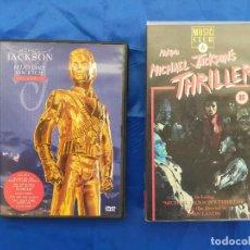 Cine: MICHAEL JACKSON.DVD.Y VHS.THRILLER. Lote 274031018
