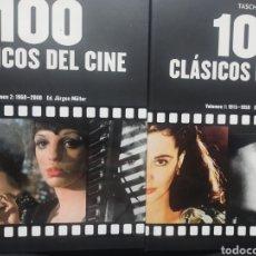 Cine: 100 CLÁSICOS DEL CINE. 1. 1915-1959 / 2: 1960-2000 (OBRA COMPLETA EN ESTUCHE) ED. JÜRGEN MÜLLER.. Lote 274337488
