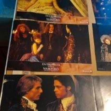 Cine: LOTE 12 CARTELES DE CINE : ENTREVISTA CON UN VAMPIRO ( BRAD PITT, TOM CRUISSE, ANTONIO BANDERAS ). Lote 274939398