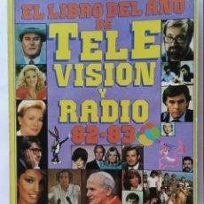 Cinema: EL LIBRO DEL AÑO DE LA TELEVISIÓN Y RADIO 82-83. Lote 276360953