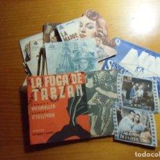 Cinéma: CINE.INTERESANTE LOTE DE 30 PROGRAMAS DOBLES Y TROQUELADOS,AÑOS 40.TODOS FOTOGRAFIADOS.. Lote 276822768