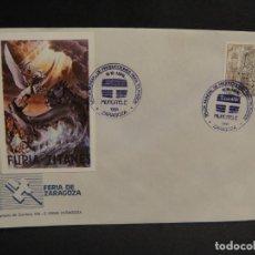 Cine: VIÑETA PELICULA FURIA DE TITANES - SOBRE DEL SALON MUNDIAL DE PRODUCIONES PARA TV AÑO 1988. Lote 277513683