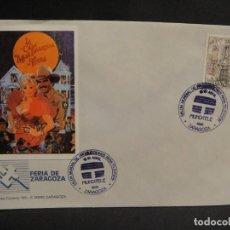 Cine: VIÑETA LA CASA MAS DIVERTIDA DE TEXAS - SOBRE DEL SALON MUNDIAL DE PRODUCIONES PARA TV AÑO 1988. Lote 277513923
