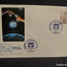 Cine: VIÑETA E. T. - SOBRE DEL SALON MUNDIAL DE PRODUCIONES PARA TV AÑO 1988. Lote 277514423