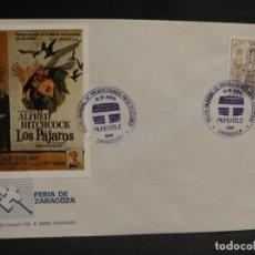 Cine: VIÑETA LOS PAJAROS - SOBRE DEL SALON MUNDIAL DE PRODUCIONES PARA TV AÑO 1988. Lote 277514788