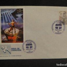 Cine: VIÑETA YOR - SOBRE DEL SALON MUNDIAL DE PRODUCIONES PARA TV AÑO 1988. Lote 277515083