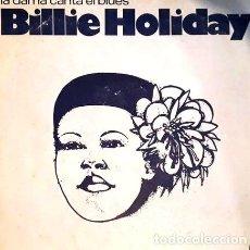 Cine: BILLIE HOLIDAY VINILO DISCO LA DAMA CANTA EL BLUES. Lote 277774723