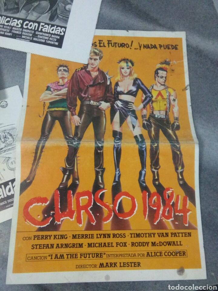 Cine: Lote de cine ,cartelitos y prototipo de cartel de cine,peliculas de epoca - Foto 3 - 278949333