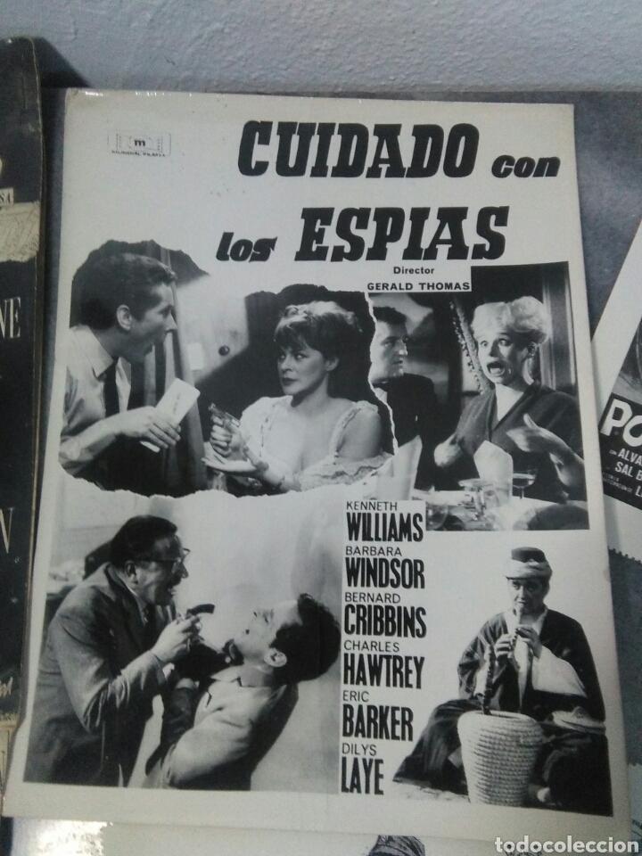 Cine: Lote de cine ,cartelitos y prototipo de cartel de cine,peliculas de epoca - Foto 6 - 278949333