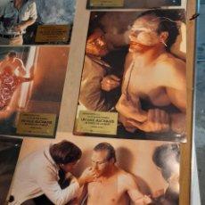 Cine: LOTE 7 CARTELES DE CINE : UN VIAJE ALUCINANTE AL FONDO DE LA MENTE ( WILLIAM HURT ). Lote 278967333