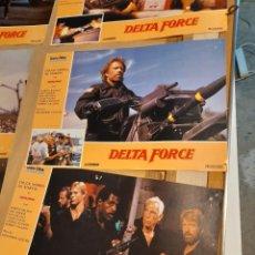 Cine: LOTE 6 CARTELES DE CINE : DELTA FORCE ( LEE MARVIN, CHUCK NORRIS ). Lote 278967508