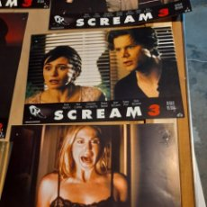 Cine: LOTE 6 CARTELES DE CINE : SCREAM ( WES CRAVEN). Lote 278967998