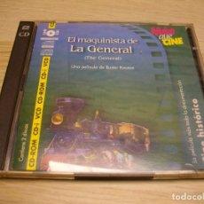 Cine: EL MAQUINISTA DE LA GENERAL VIDEO-CD. Lote 279572598