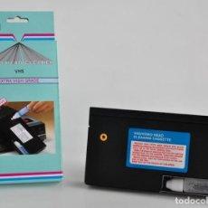 Cinema: CINTA LIMPIADORA VIDEO VHS PARA LA LIMPIEZA DE LOS CABEZALES -NUEVA A ESTRENAR -. Lote 280171533