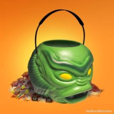 Cinema: UNIVERSAL MONSTERS CUBETA PARA DULCES CREATURE FROM THE BLACK LAGOON 18 CM. Lote 282193368