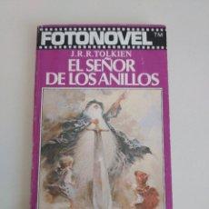 Cine: J.R.R. TOLKIEN EL SEÑOR DE LOS ANILLOS FOTONOVEL BRUGUERA LIBRO AMENO 1979. Lote 284254573