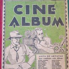 Cine: LIBRO FOTOGRÁFICO CINE ALBUM AÑO 1927 FOTOS 36 . ACTORES ACTRICES ARTISTAS. IBERIA BARCELONA 340GR. Lote 286196488