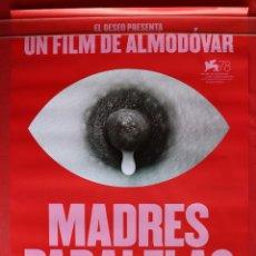 Cinema: POSTER ORIGINAL DE LA PELICULA MADRES PARALELAS. Lote 286769108