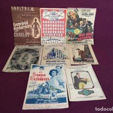 Cinéma: LOTE DE PUBLICIDAD DE CINE, 8 PIEZAS, DE REVISTAS Y OTROS. Lote 287135808