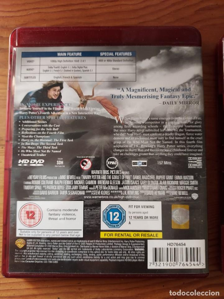 Cine: Lote 2 HD-DVD HARRY POTTER , prisionero de Azkaban y El Caliz de Fuego. - Foto 4 - 287683733