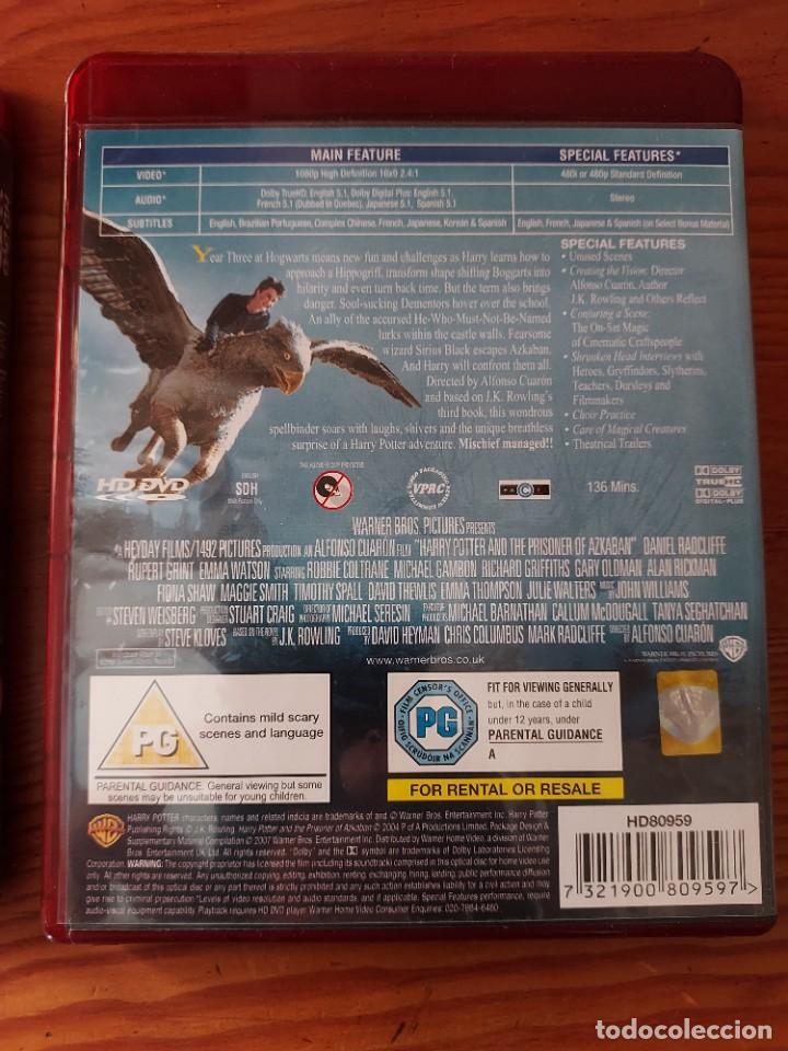 Cine: Lote 2 HD-DVD HARRY POTTER , prisionero de Azkaban y El Caliz de Fuego. - Foto 5 - 287683733