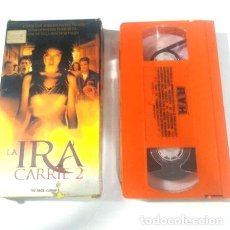 Cine: LA IRA CARRIE 2 THE RAGE EMILY BERGL AMY IRVING TERROR VHS. Lote 288495243